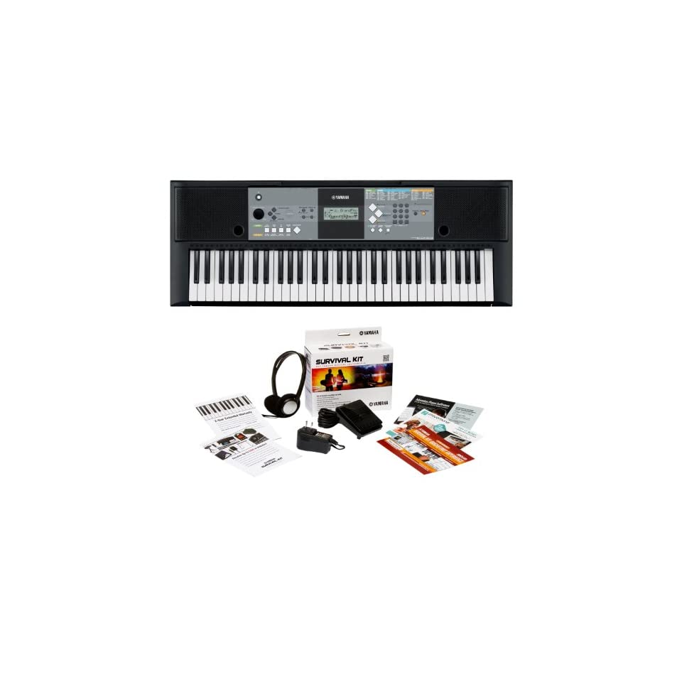 Yamaha PSR E233 61 key Portable Keyboard Outfit