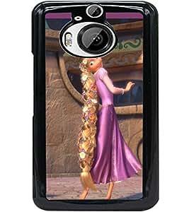 ColourCraft Cartoon Princess Design Back Case Cover for HTC ONE M9 PLUS