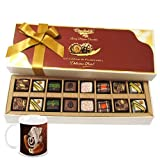 Chocholik Belgium Chocolates - 16pc Magical Treat Of Pralines Chocolate Box With Diwali Special Coffee Mug - Gifts...