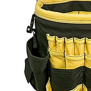 CLC Custom Leathercraft 4122 In & Out Bucket, 61 Pocket
