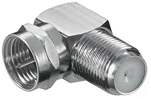 Winkel-Adapter F-Stecker auf F-Buchse