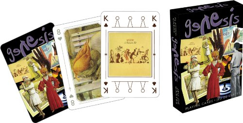 Genesis Playing Cards - 1
