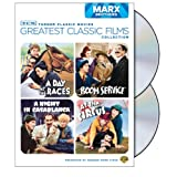 TCM Greatest Classic Films Collection: Marx Brothers (A Day at the Races / A Night in Casablanca / Room Service / At the Circus) ~ Groucho Marx