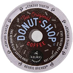 Keurig, The Original Donut Shop, Medium Roast, K-Cup Packs, 50 Count