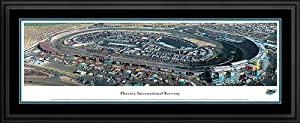NASCAR Tracks - Phoenix International Raceway Aerial - Framed Poster Print by Laminated Visuals