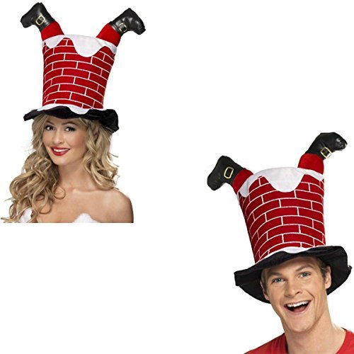 father-christmas-santa-chimney-hat-christmas-dinner-fancy-dress-party-xmas-fun-accessory