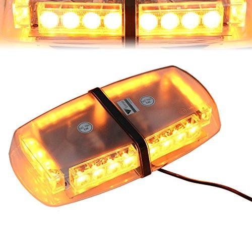 t-tocas-tm-24-led-strobe-beacon-emergenza-mini-bar-con-base-magnetica-per-auto-rimorchio-caravan-suv