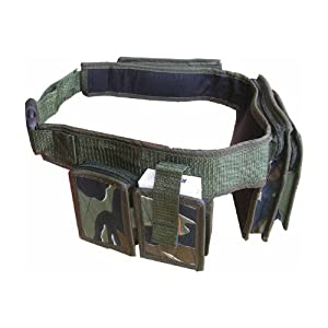 Zip Zap Zooom Army Combat Utility Travel Belt Waist Bum Bag DPM Camo