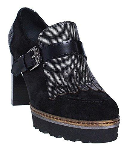 Maripé, Scarpe col tacco donna nero nero, nero (nero), 40 EU