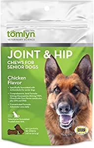 Tomlyn Joint and Hip Chews for Senior Dogs