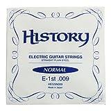 HISTORY HEGSN009 エレキギター弦 10本セット バラ弦 (ヒストリー)