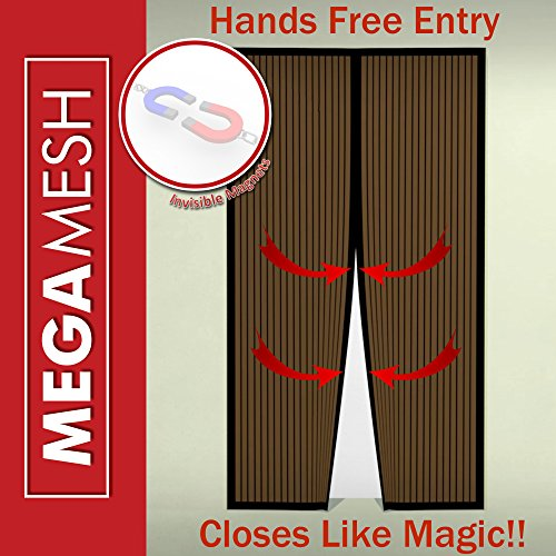 Lowes screen doors for Magnetic mesh screen for french doors