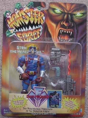 MONSTER FORCE LANCE MCGRUDER ACTION FIGURE - 1