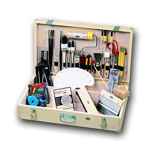 Maler-Werkzeugkoffer-AUSBILDUNG-Friess-65cm-x-37cm-x-18cm-komplett-bestckt-fr-berbetrieblichen-Ausbildung