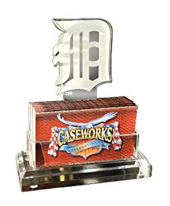 MLB Detroit Tigers Business Card Holder in Gift Box by Caseworks