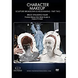 Character Makeup- Sculpture Breakdown & Molding Part 2