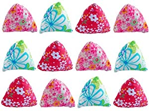 CRINKLE Pyramids Cat Toy with Catnip - 12 Pack