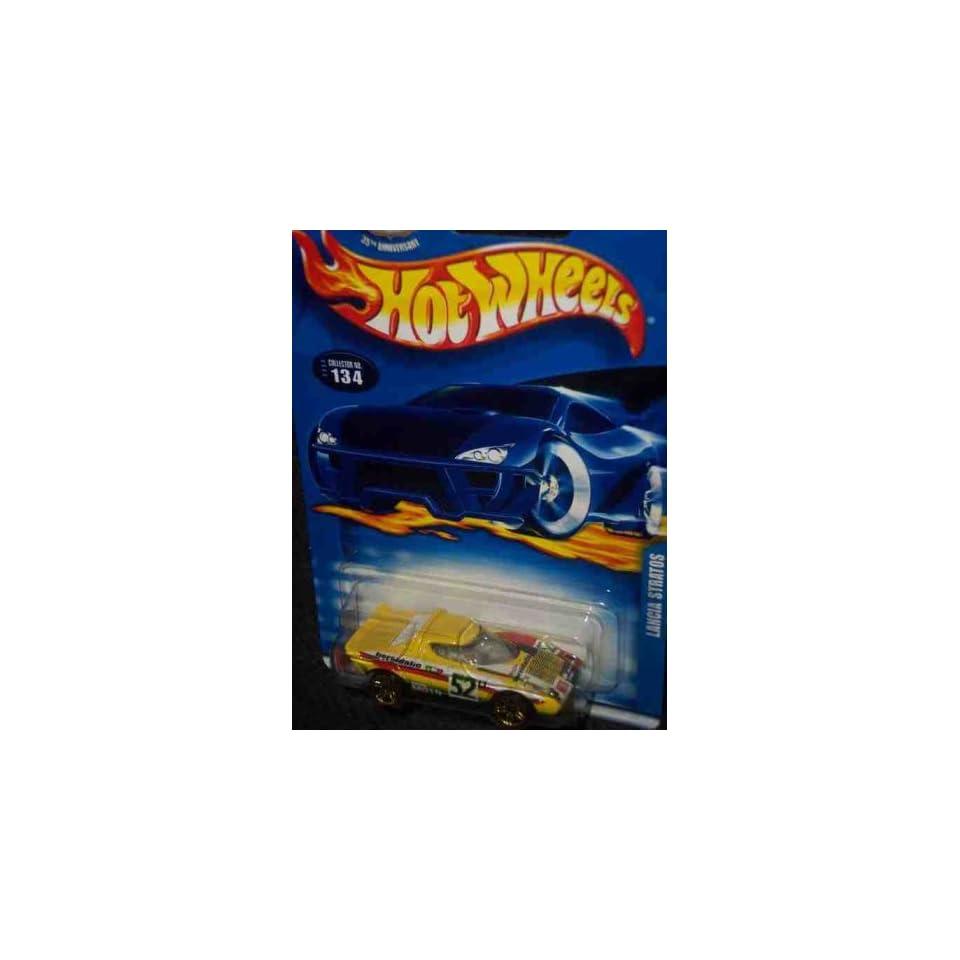 #2003 134 Lancia Stratos White Interior Collectible Collector Car Mattel Hot Wheels 164 Scale