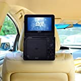 TFY Car Headrest Mount for Portable DVD Player-7 Inch (for Sony DVP-FX750, Sony DVP-FX780 and more)