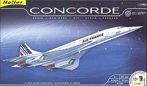 Heller 52903 modellino da costruire aereo concorde for Modellino concorde