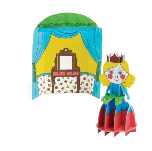 "Manhattan Toy ""Imagine I Can..."" Create & Color Princess Kit"
