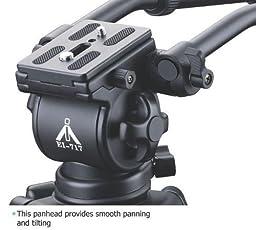 CowboyStudio EI-717H head + Handle Pro Video Camera Fluid Drag Tripod Head