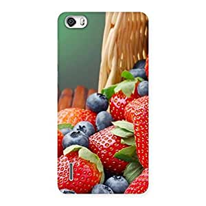 Delicious Straberry Back Case Cover for Honor 6