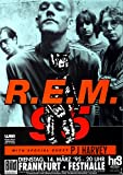 R.E.M. Monster 1995 - Concert Poster Concertposter