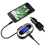 Insten LCD Car FM Transmitter for MP3/iPod/Zune