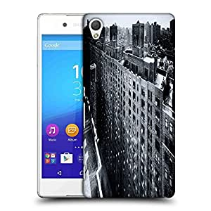 Snoogg Manhattan New York City Designer Protective Phone Back Case Cover For HTC one A9