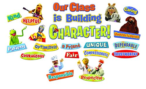 Paper Magic Eureka Muppets Our Class has Character Mini Bulletin Board Set