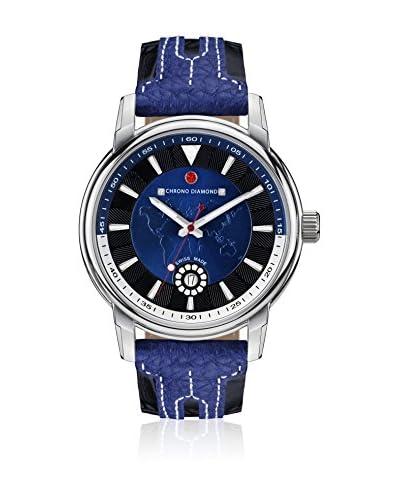 Chrono Diamond Reloj con movimiento cuarzo suizo Man 10800Cr Nereus Azul
