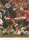 img - for San Francisco 49ers 1984 Super Bowl Commemorative Guide book / textbook / text book