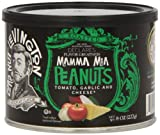 Lord Nut Levington Peanuts, Mamma Mia, 8-Ounce (Pack of 6)