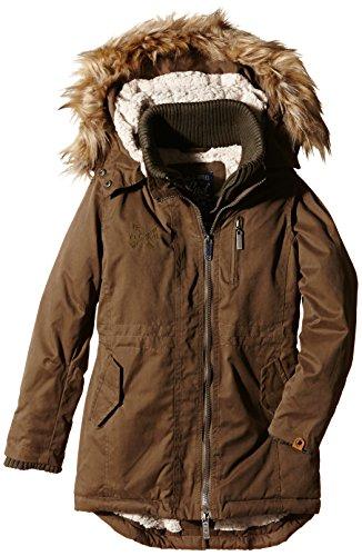 PETROL INDUSTRIES - Jacket, Cappotto per bambine e ragazze, verde (savage green), 10 anni (Taglia produttore: 140)