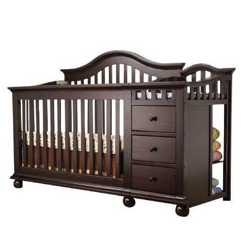 Sorelle Cape Cod Crib N Changer Espresso Furniture Baby
