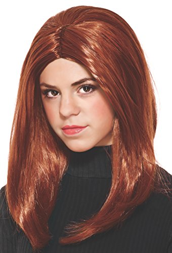 Marvel Captain America: The Winter Soldier, Black Widow Child's Costume Wig - 1
