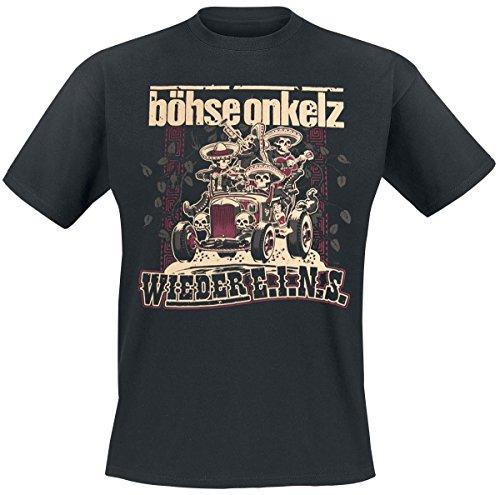Böhse Onkelz Wieder E.I.N.S. T-Shirt nero 3XL