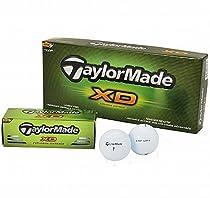 TaylorMade XD Golf Balls Dozen