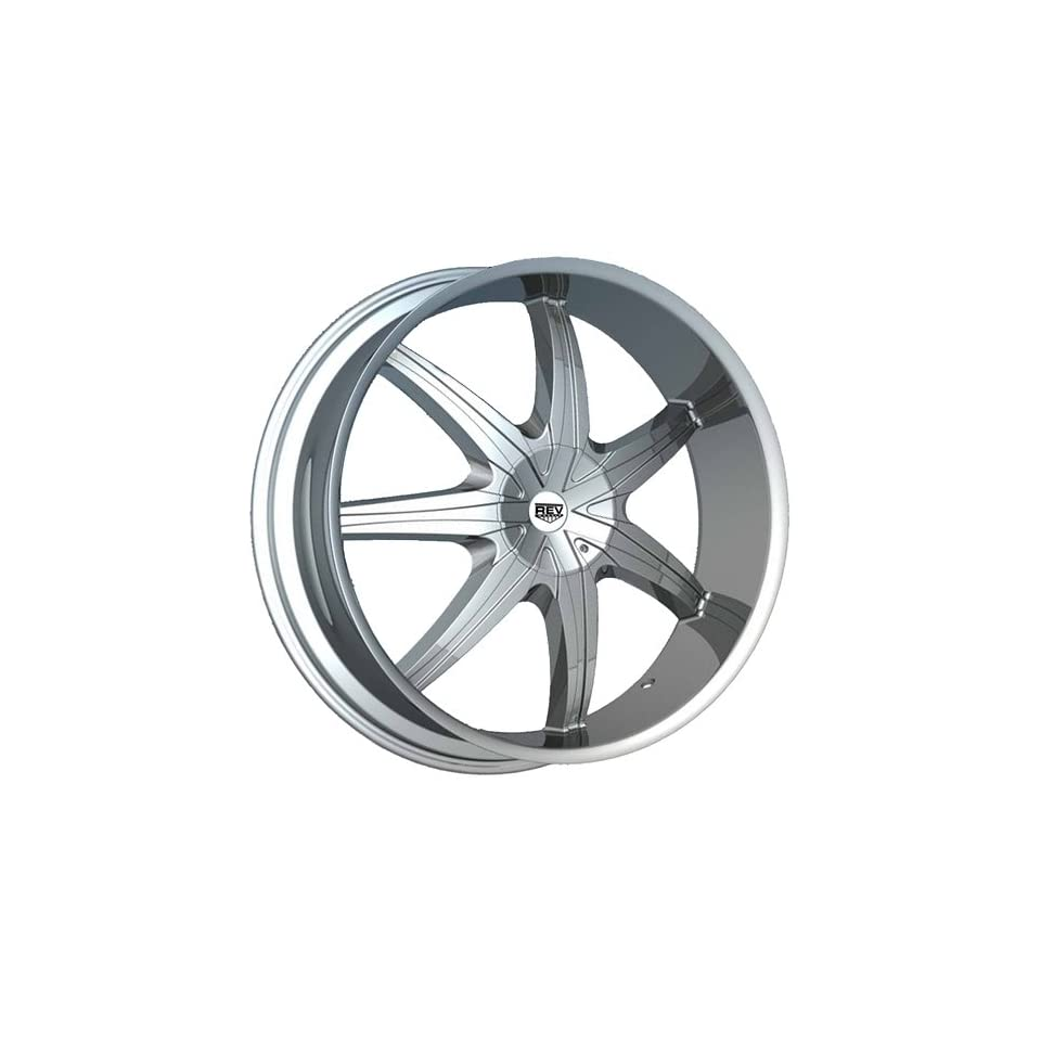 Rev 946 20 Chrome Wheel / Rim 6x135 & 6x5.5 with a 24mm Offset and a 87 Hub Bore. Partnumber 946C 2853524