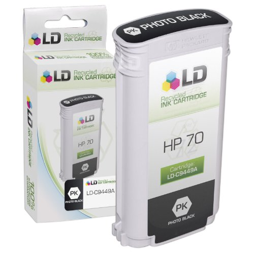 LD © Remanufactured Replacement Ink Cartridge for Hewlett Packard C9449A (HP 70) Photo Black