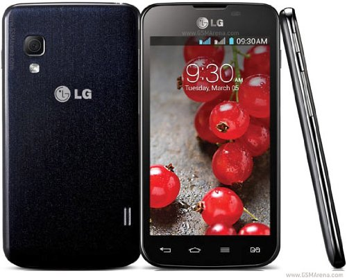 Lg Optimus L5 II E455 Unlocked Dual Sim Phone -  Black (Lg Optimus Black Straight Talk compare prices)