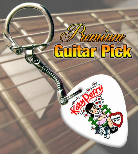 Katy Perry Premium Guitar Pick Keyring