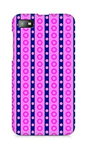 Amez designer printed 3d premium high quality back case cover for BlackBerry Z10 (Cool Pattern11)