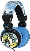 iHip MVF10264WO Marvel Wolverine Extreme DJ Headphone YellowBlue