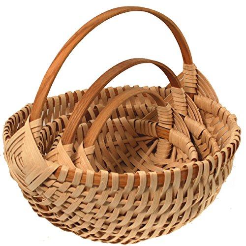 Basket Weaving Kits Beginner : Nested set of melon basket weaving kits dealtrend
