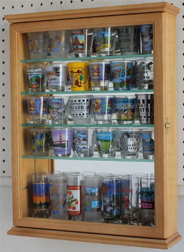 Glass Display Case Shadow Box