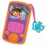 Fisher-Price Dora Talk & Explore Cell Phone