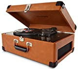 Crosley CR6249A TA Keepsake USB Portable 3 Speed Turntable
