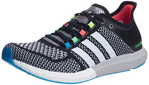 adidas Men's CC Cosmic Boost M Black and White Mesh Running Shoes - 6 UK  available at amazon for Rs.8399